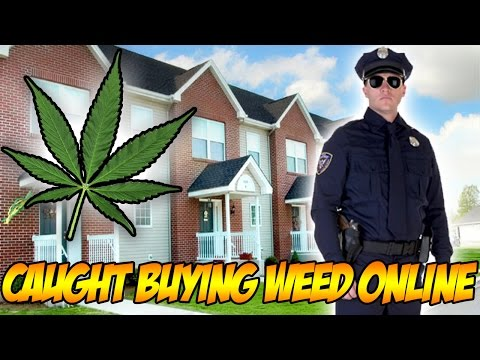 CAUGHT BUYING WEED ONLINE (STORY)