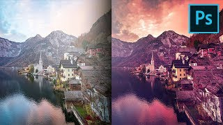 Trick the Photo Filter to Add Drama & Color in Photoshop!