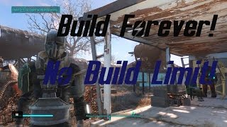 Fallout 4 Building Tips | Unlimited Build Space!! MUST WATCH!