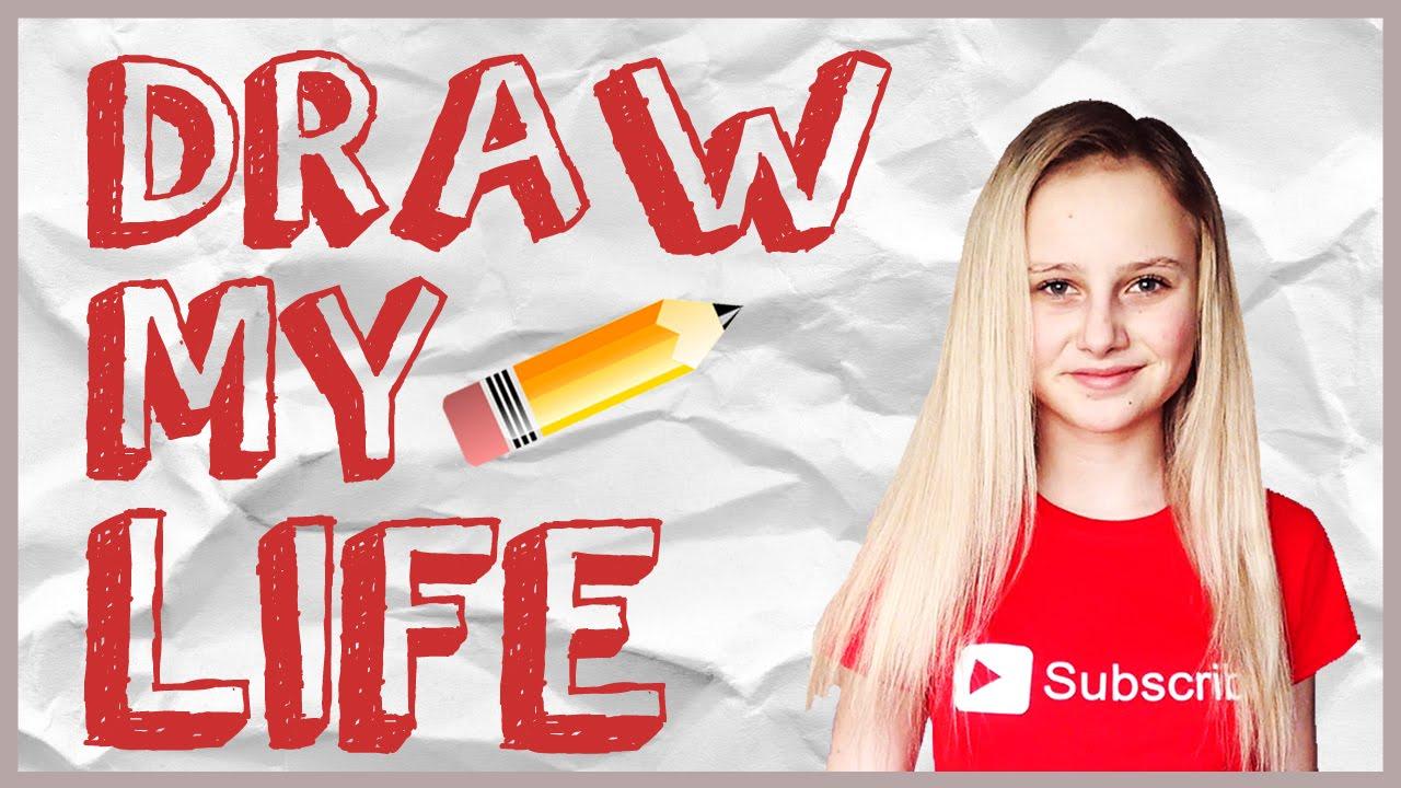 DRAW MY LIFE | Fallenka