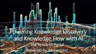 AI Conference Submission 2019 Powering Knowledge Discovery and Knowledge Flow with AI