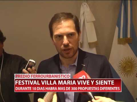 PREDIO FERROURBANISTICO FESTIVAL VILLA MARIA VIVE Y SIENTE