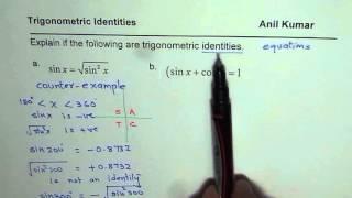 Is square root of sine square sine a Trigonometric Identity