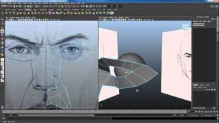 How to 3D Model a Head Part 1