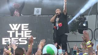 DJ Khaled performs and proves We The Best at Epic Fest in L.A