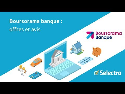 Boursorama banque : avis et contact