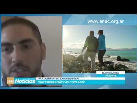 Ivan Cabrera de Enac Tierra del Fuego en TVP Noticias