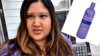 Clairol Shimmer Lights Purple Shampoo Before And After Review + Demo