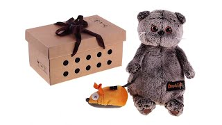 Обзор на плюшевую игрушку   котика Басика Basik & Ko