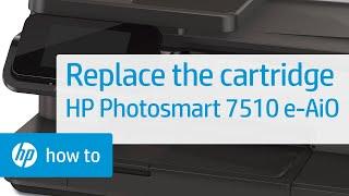 Replacing a Cartridge - HP Photosmart 7510 e-All-in-One Printer (C311a)(, 2012-05-24T17:37:33.000Z)