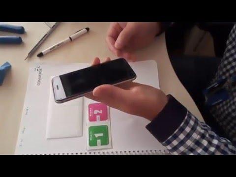 Замена защитного стекла iPhone6/Screen protector for iPhone6 changing