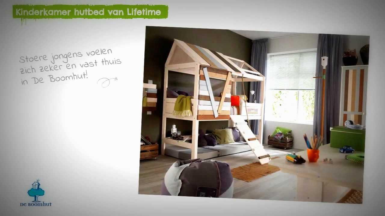 Lifetime Halfhoogslaper Met Glijbaan.Kinderkamer Hutbed Van Lifetime Youtube