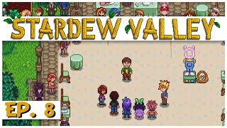 Stardew Valley - Ep. 8 - The Egg Festival Egg Hunt! - Let's Play Stardew Valley Gameplay