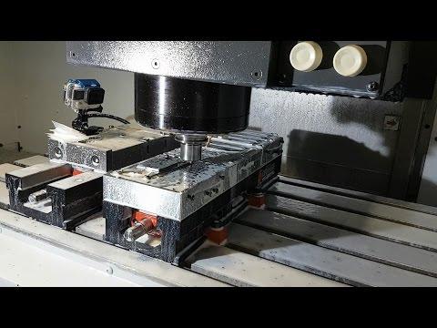 Mori Seiki CNC, Fusion 360 CAM, Grimsmo Rask blades - Grimsmo Grind 034