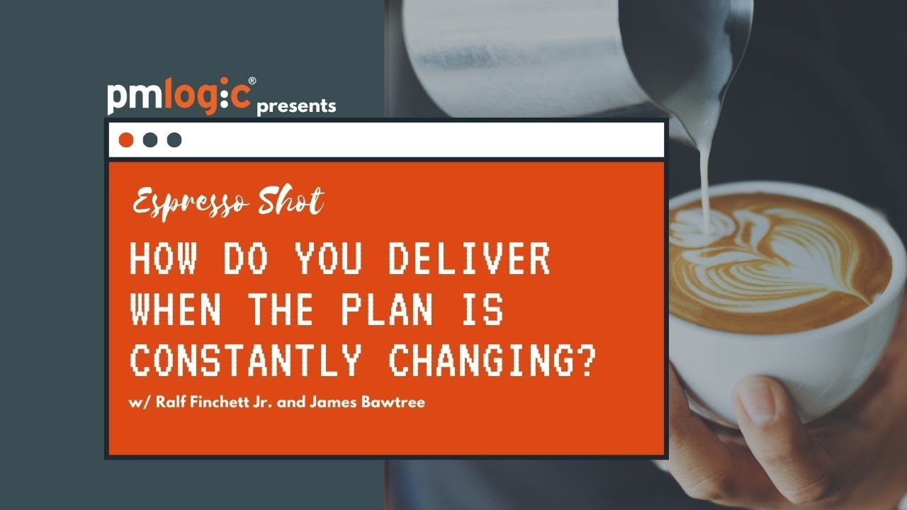 How do you deliver when the plan is constantly changing? w/ Ralf Finchett Jnr. and James Bawtree