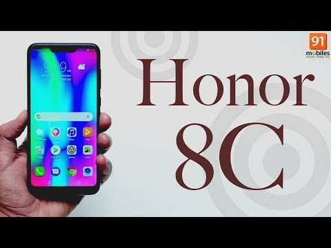 Honor 8C: Unboxing   Hands on [Hindi हिन्दी]