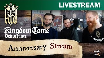 Kingdom Come: Deliverance - Anniversary Stream (PART 2/6) with Martin Ziegler and Jan Rucker