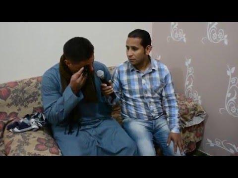 المقابلة الاولي بقرية العور  محزنة جدااا قرية الشهداء