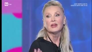 """Barbara Bouchet: """"Io vivo con 511 euro? È una fake news"""" - Domenica In 11/03/2018"""