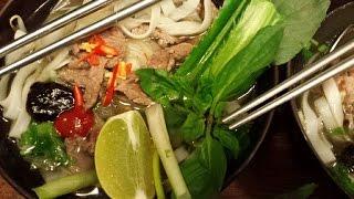 Vietnamese noodle soup/