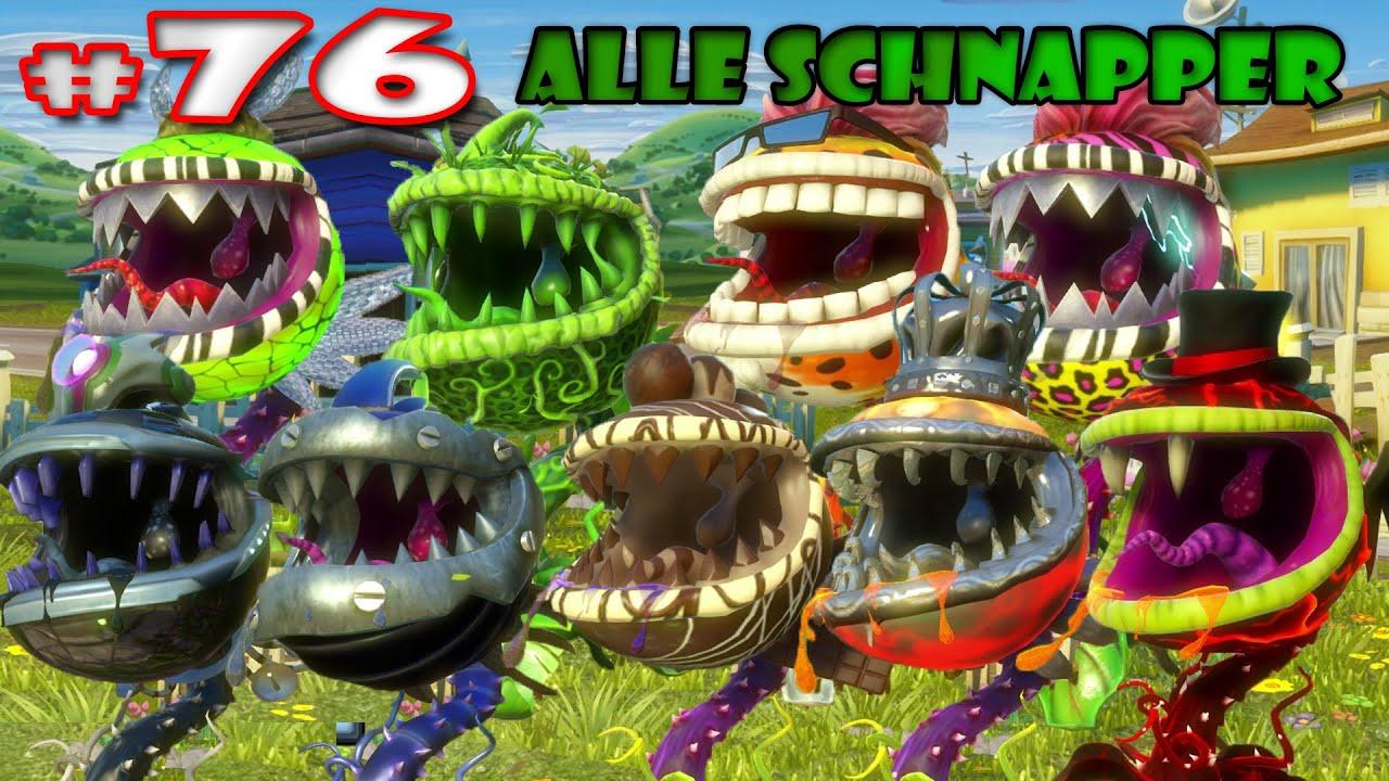 Alle Schnapper  Plants vsZombies Garden Warfare HD 76 Lets