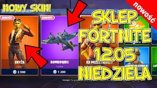 FORTNITE 12.05 STORE-New skin and Lotnia-Chyża, Lotnia bomber, Ace of the Skies, dabing