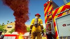 Firefighting Simulator - Pre-Alpha-Gameplay mit Wohnungsbrand und Entwickler