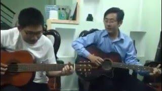 Ngày vui qua mau-Guitar cover (HV nhóm 1 guitar thực dụng MN)