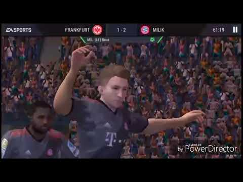 Fifa Mobile 17 Mecz: FC Bayern-Frankfurt kto wygrał!?