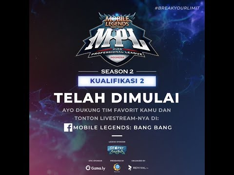 LIVE MPL Season 2 Onic Vs DT | 24 Juni 2018 | Mobile Legend Bang Bang Indonesia