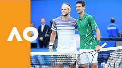 Novak Djokovic and Dominic Thiem enter Rod Laver Arena | Australian Open 2020 Final