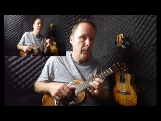 New video of a ukulele duet.