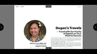 Dugan's Travels - Travel with Our Family of Agents on Your  Road to Success