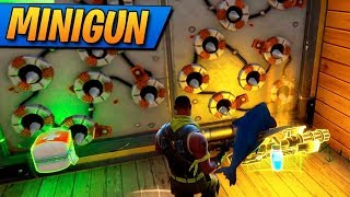 MINIGUN Y TRAMPAS! Fortnite: Battle Royale