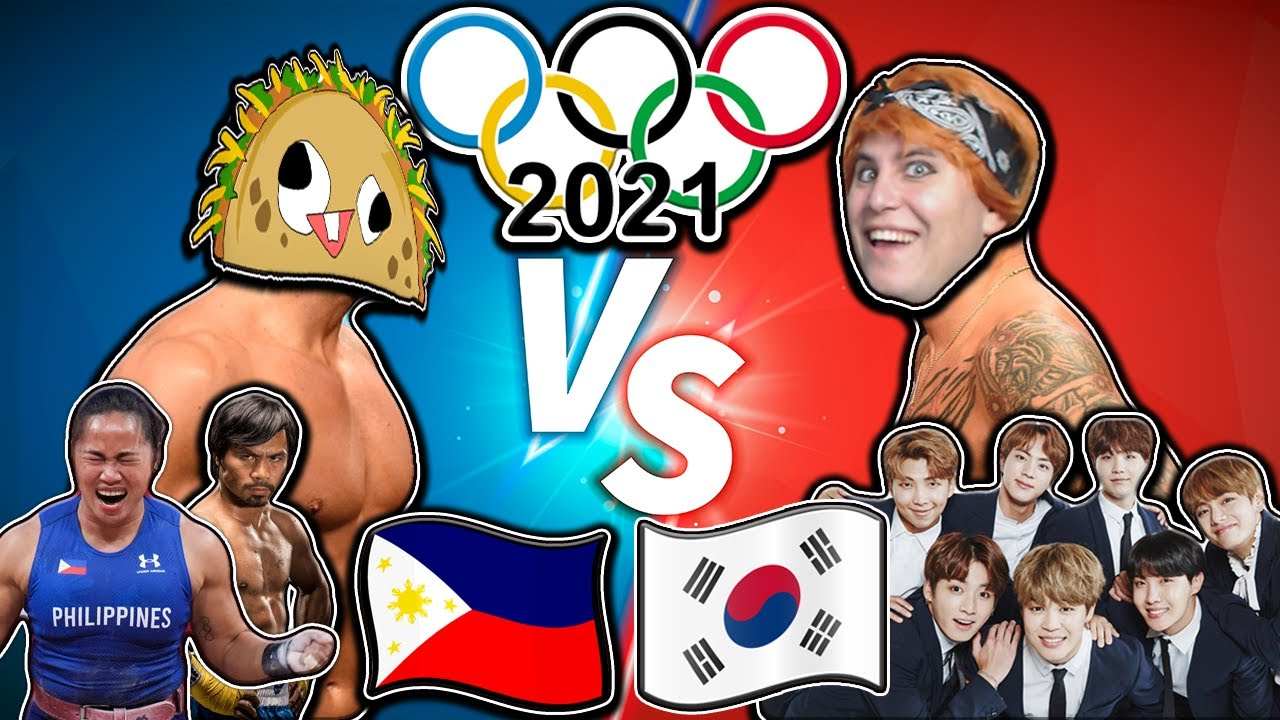 South Korea [BTS] VS Philippines [Manny Pacquiao, Hidilyn Diaz] l WHO WILL WIN TOKYO OLYMPIC 2021???