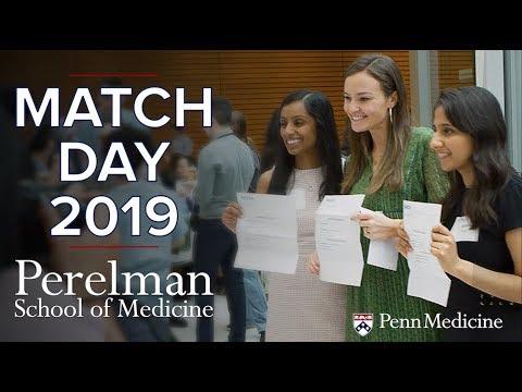 Match Day 2019 At The University Of Pennsylvania's Perelman School Of Medicine