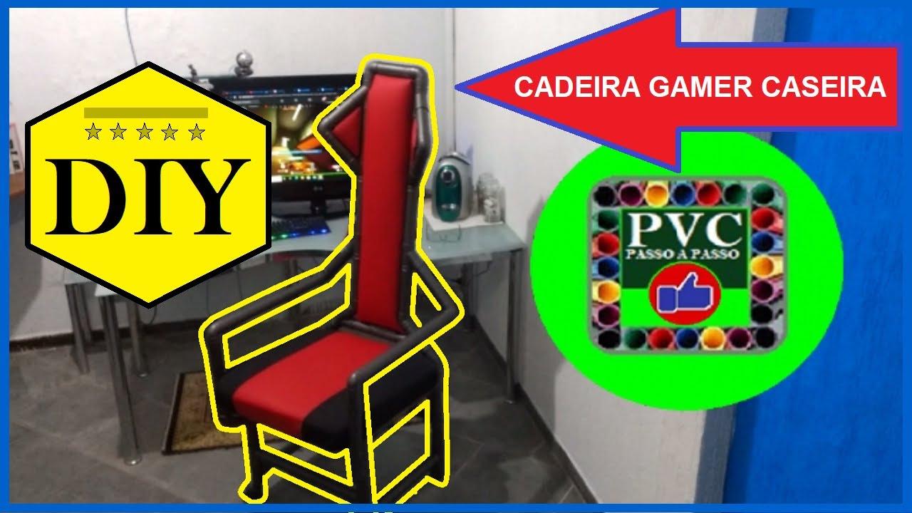 Cadeira Gamer Diy com PVC - Silla Diy Gamer con PVC