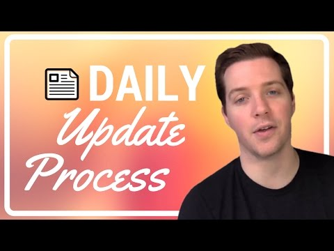 Our Daily Updates Process & Review - What Data is the Project Manager Gathering?