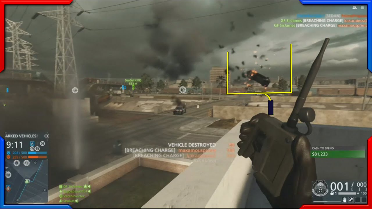 Xbox Record That Battlefield Hardline Moment Field Goal