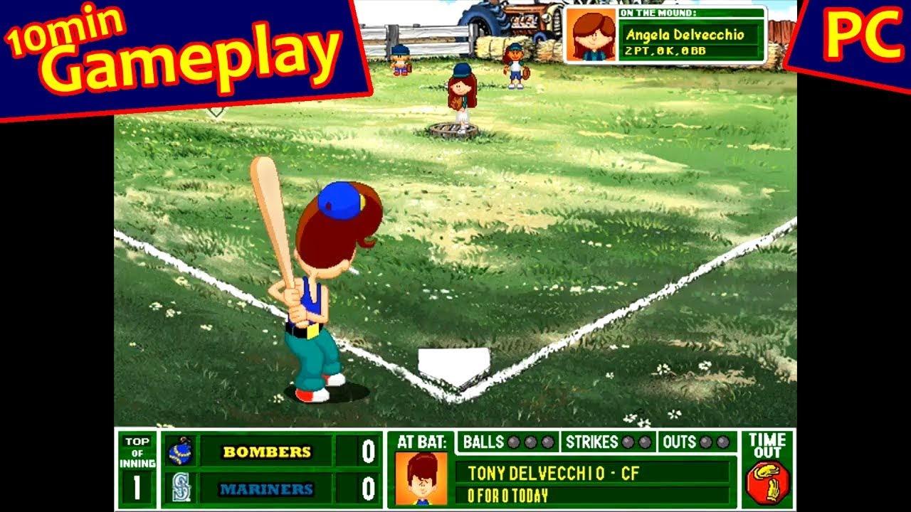 Backyard Football 2003 backyard baseball 2003  (pc) - youtube