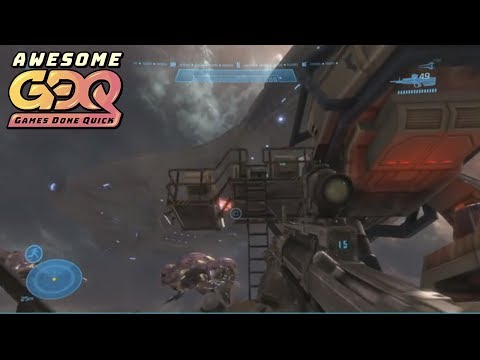 Halo: Reach Legendary Co-op by WoLfy and Pedrogas in 1:35:02 - AGDQ2019