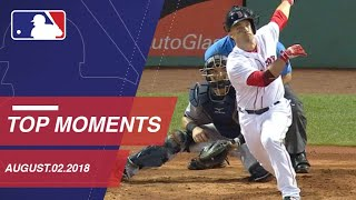 Top 10 Moments around MLB: August 2, 2018