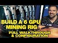How To Build A 6 GPU Mining Rig  1070 TI To Mine (1370 Sol/s AION) , ETH and More
