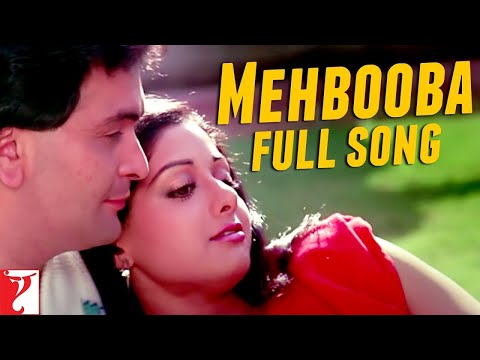 Mehbooba  Full Song  Chandni  Rishi Kapoor  Sridevi
