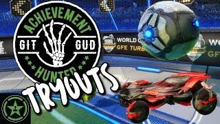 Let's Play - Git Gud Tryouts: Rocket League