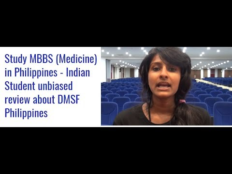 Study Doctor of Medicine (≈MBBS/MD) in Philippines - Indian Student unbiased review about DMSF