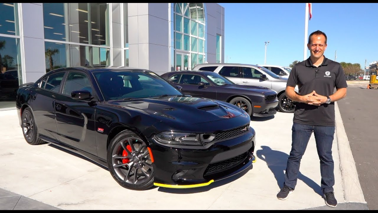 dodge charger scat pack all black Is the 2 Dodge Charger Scat Pack the BEST VALUE 2-door Muscle Car?