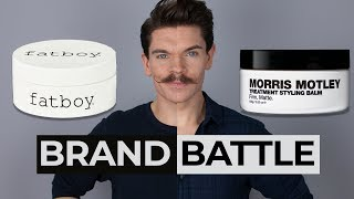 Fatboy Perfect Putty vs. Morris Motley Treatment Styling Balm  | Brand Battle
