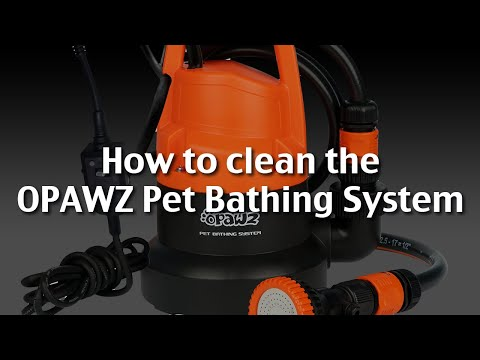 How to Clean the OPAWZ Pet Bathing System