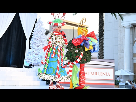 Mall at Millenia - Santa's Arrival Preview 2016